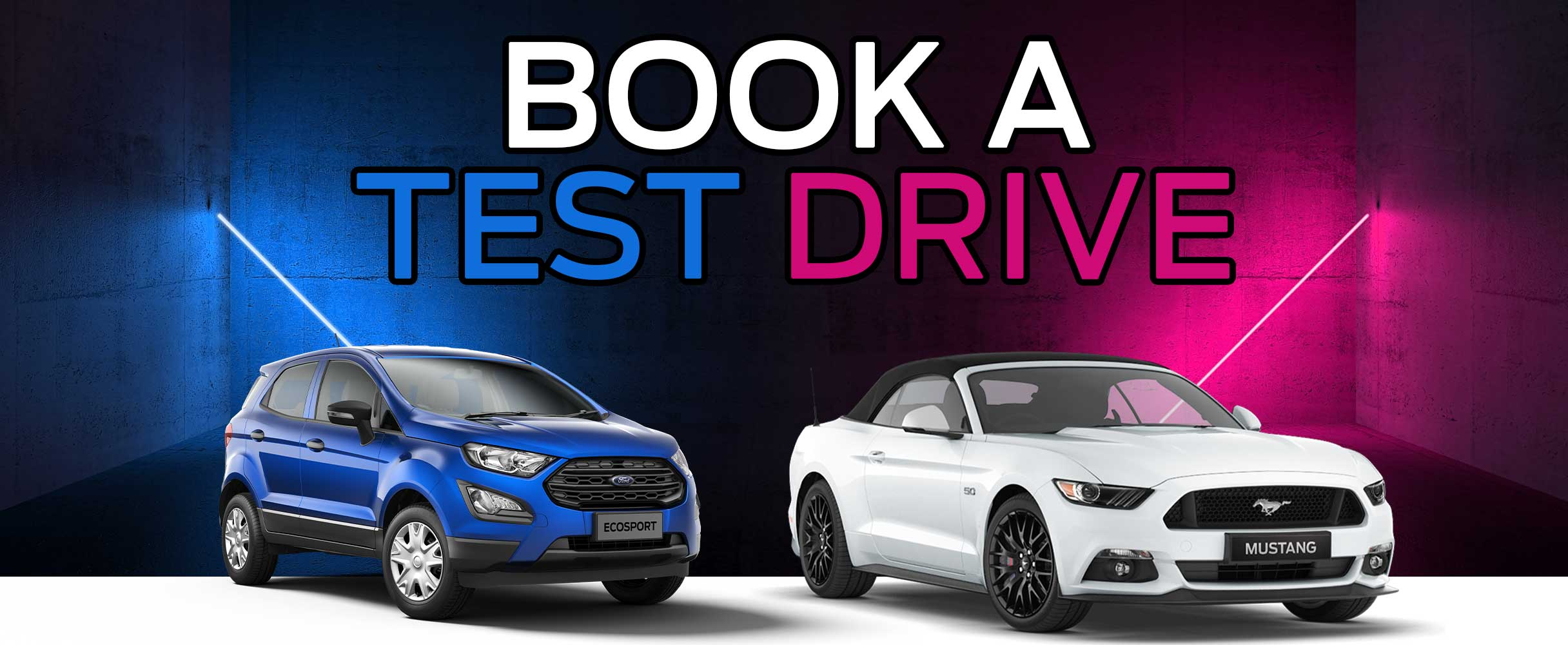book a test drive at ford tygervalley